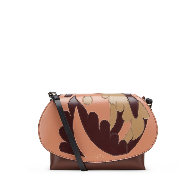Intarsia Madison Pillow Crossbody Bag