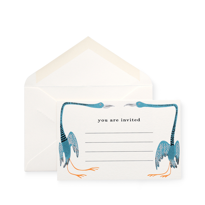 Bird Invitation Cards