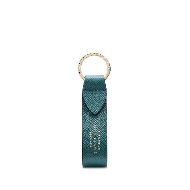 Panama Keyring with Leather Strap
