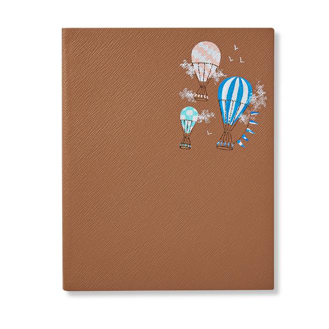 Hand Painted Chelsea in Bloom Portobello Notebook