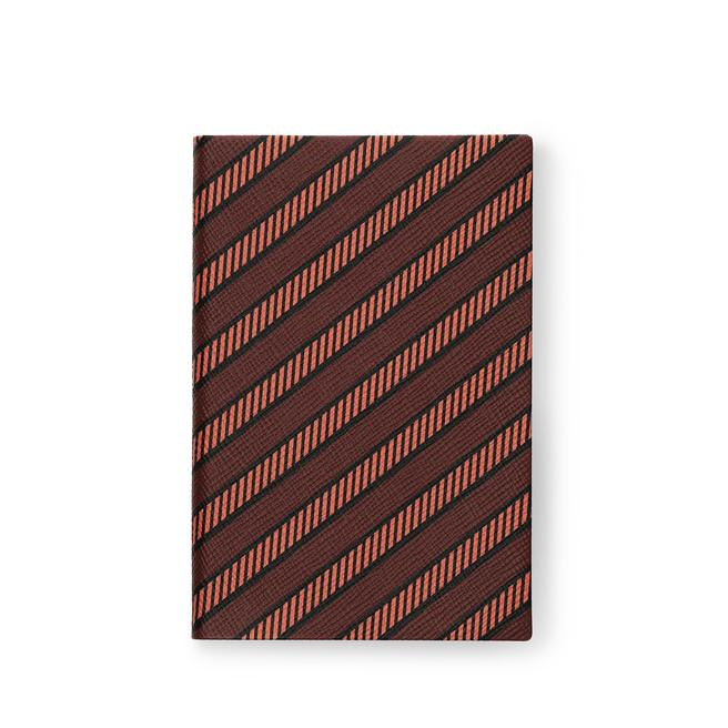 Diagonal Print Chelsea Notebook