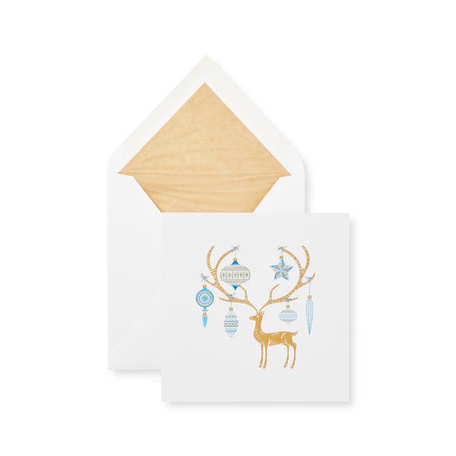 Reindeer クリスマスカードセット