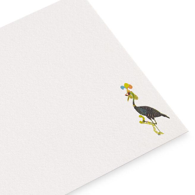 Bird with Sunglasses Correspondence Cards