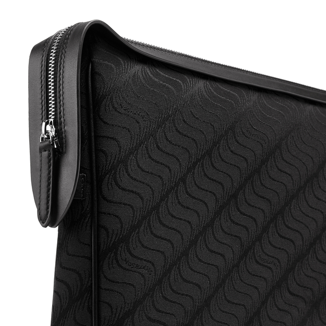 'S' Monogram Zip Guard Folio