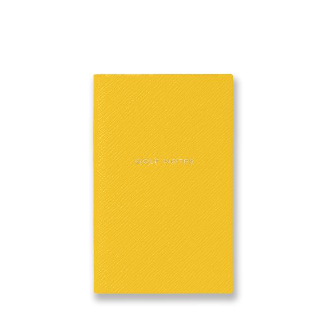 Golf Notes Panama Notebook Yellow