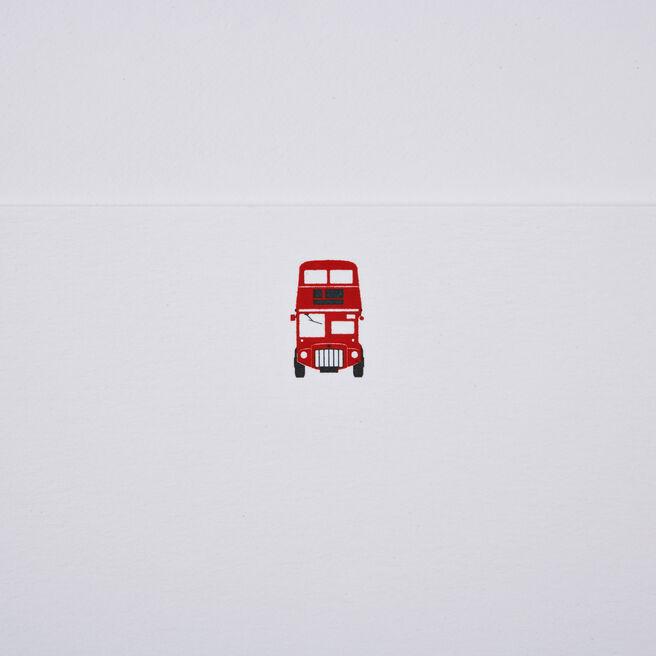 London Bus Correspondence Cards