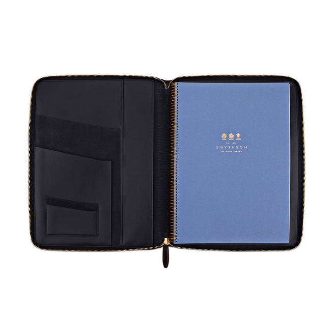 Wilde A4 Zip Writing Folder
