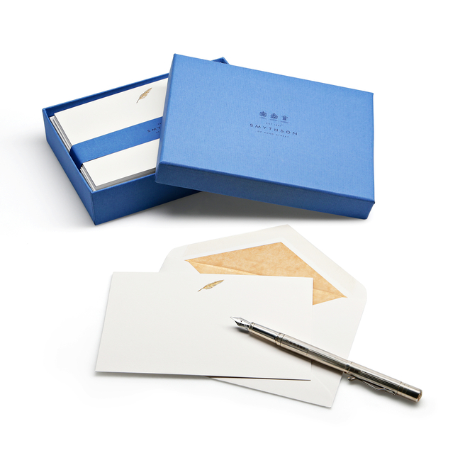 Feather Quill Correspondence Cards