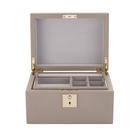 Grosvenor Jewellery Box with Tray