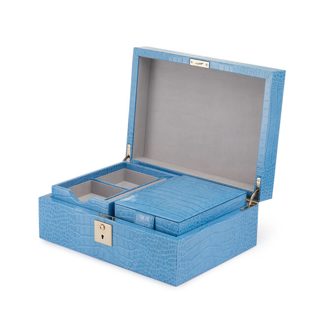Mara Jewelery Box with Travel Tray