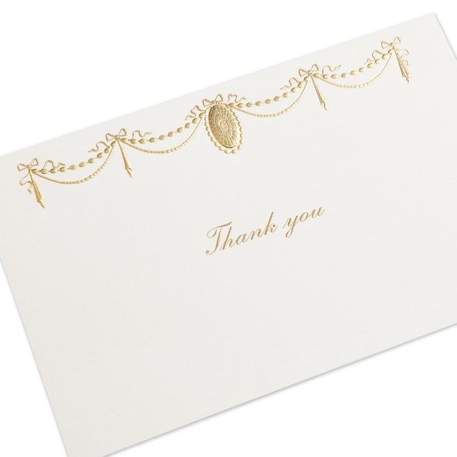 Cartes de remerciements Ruban
