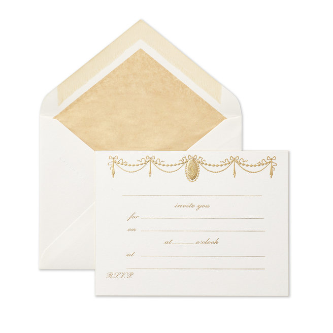 Ribbon Invitation Cards