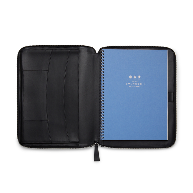 Ludlow A4 Zip Writing Folder