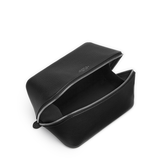 Ludlow Small Diagonal Zip Washbag
