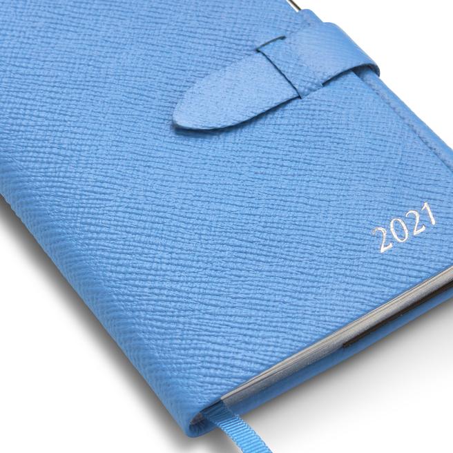 2021 Panama Agenda with Gilt Pencil