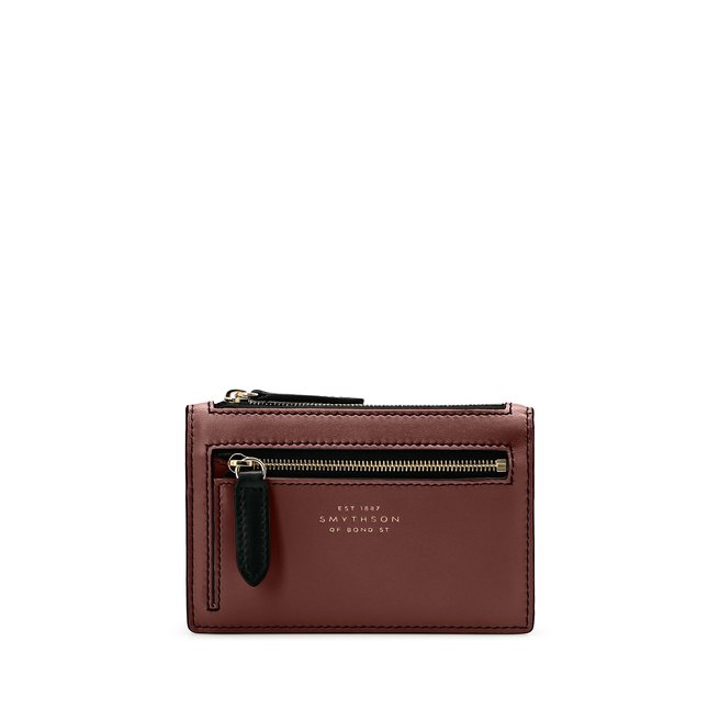 Bond Small Double Zip Purse
