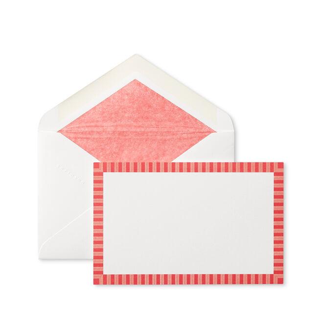 Stripe Correspondence Cards