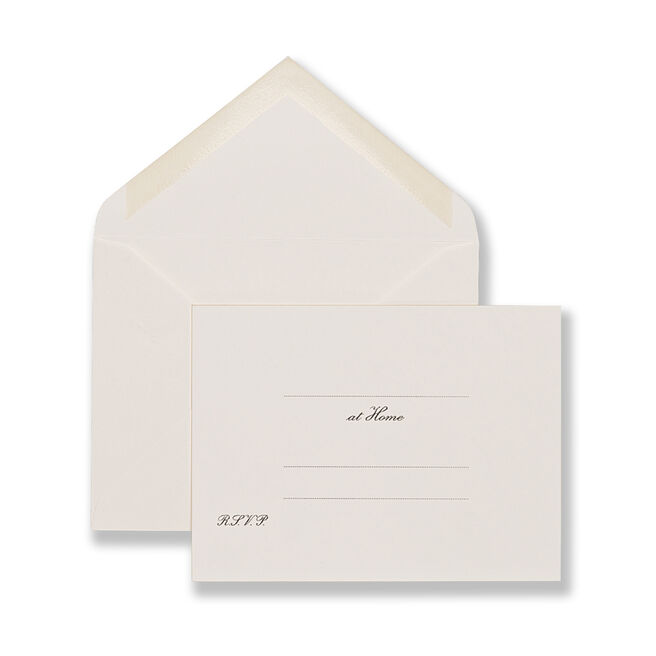 At Home Cards White