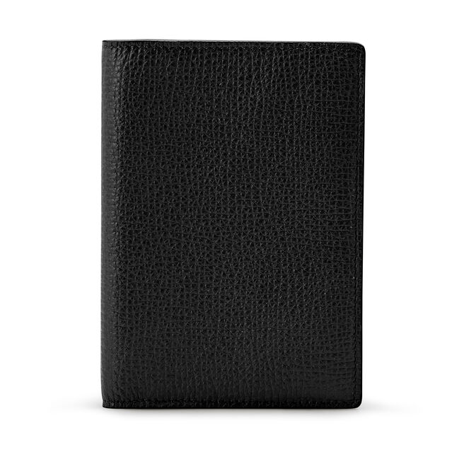 Passport Cover in Large Grain Leather