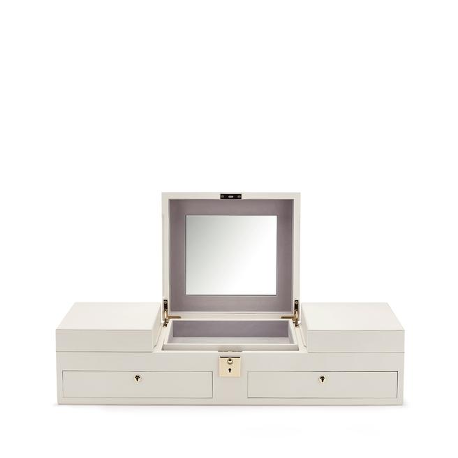 Boîte à bijoux à plateaux Grosvenor