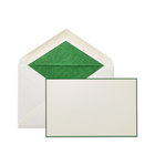 Bordered Kings Correspondence Cards