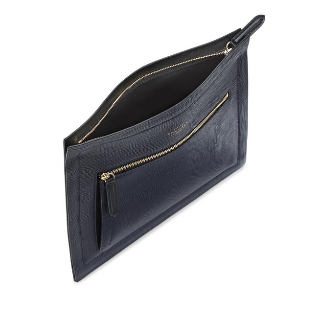Panama Paper Edge Zip Pouch
