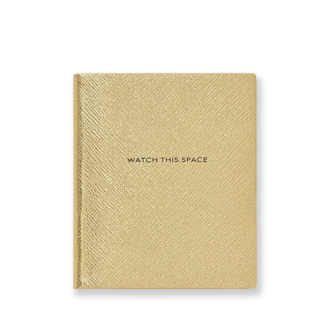 Watch This Space Premier Notebook