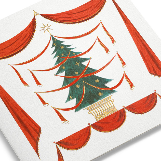 Fir Tree Christmas Cards