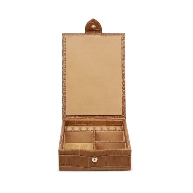 Boîte à bijoux de voyage avec plateau Mara