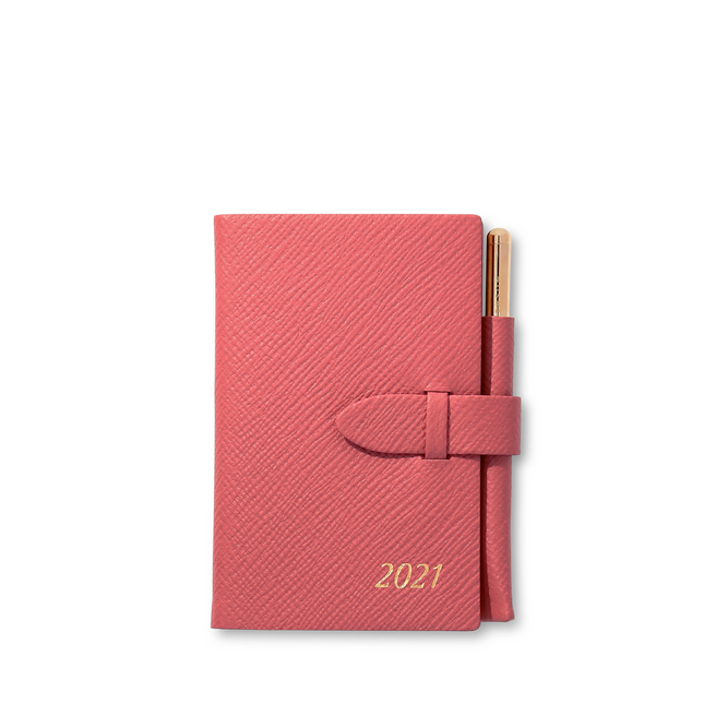 2021 Wafer Agenda with Gilt Pencil