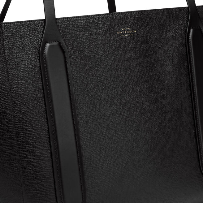 Ciappa Tote in Large Grain Leather