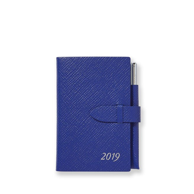 2019 Wafer Agenda with Gilt Pencil