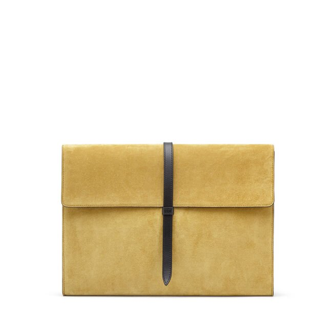 Loop Folio in Suede