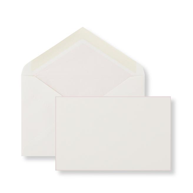 Karten mit einzelnem Randmotiv