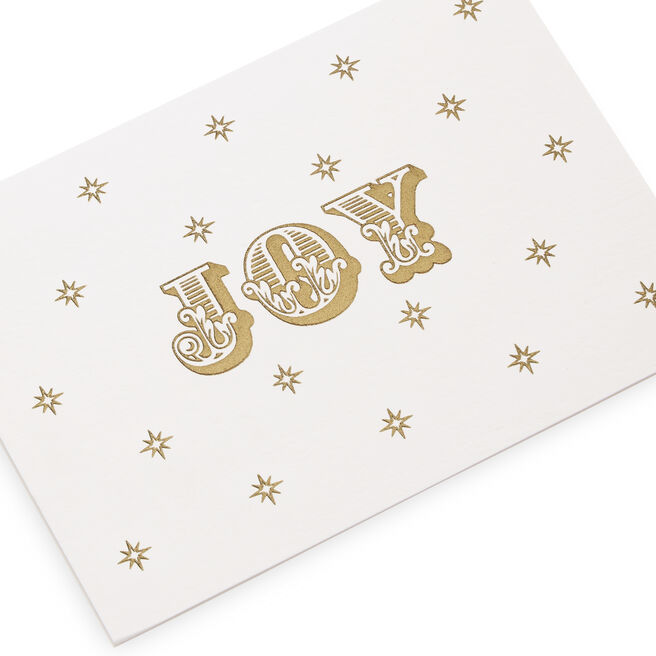 Joy Christmas Gift Cards