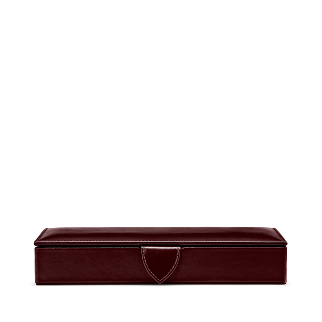 Cufflink Box in Box Calf Leather