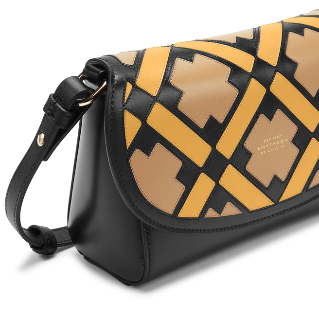 Intarsia Madison Equestrian Crossbody Bag