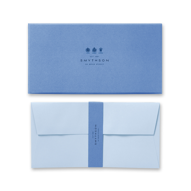 Bond Street Blue A4 Envelopes