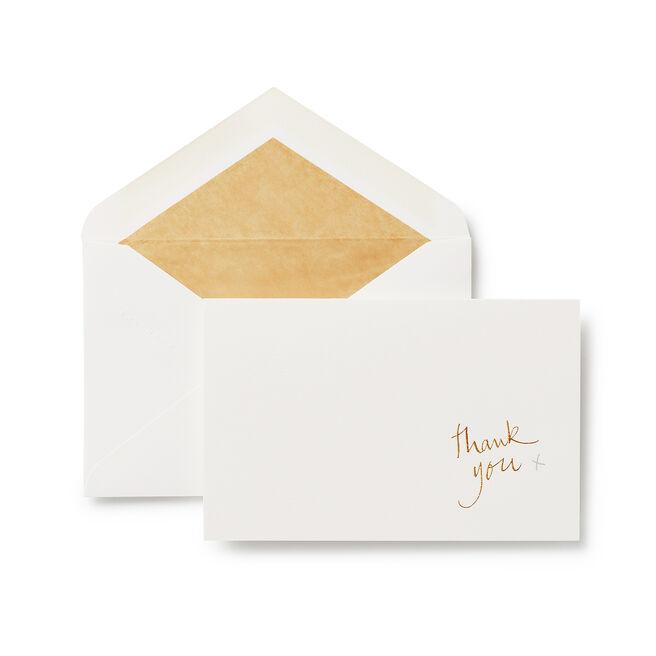 Thank You Correspondence Cards