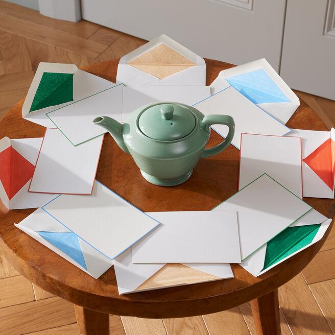 Bordered Correspondence Cards