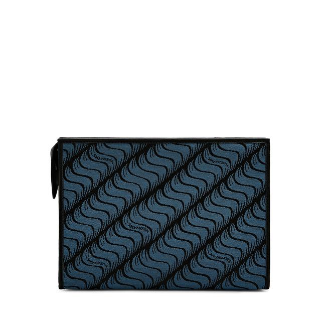 'S' Monogram Large Zip Washbag