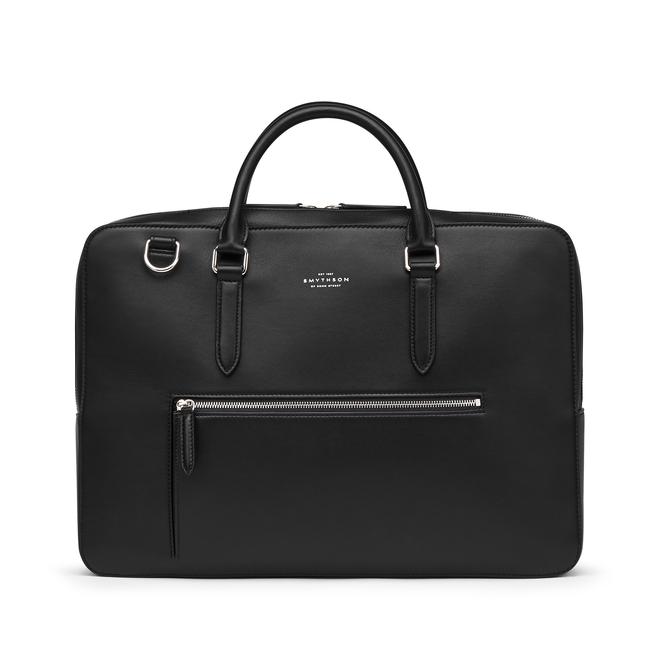 Bond Briefcase with Zip Front