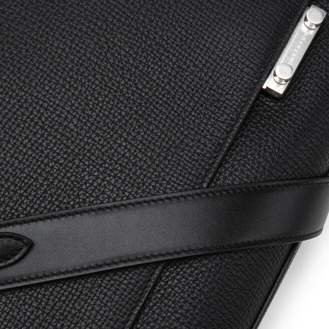 Bond Lock Briefcase in Large Grain Leather