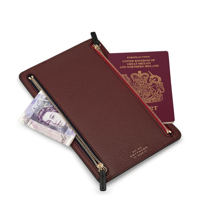 Ludlow Zip Currency Case