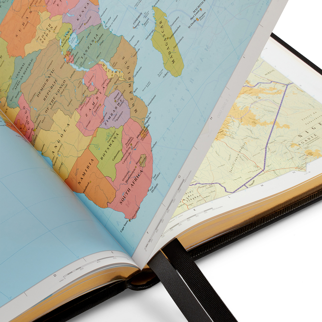 Panama Large World Atlas
