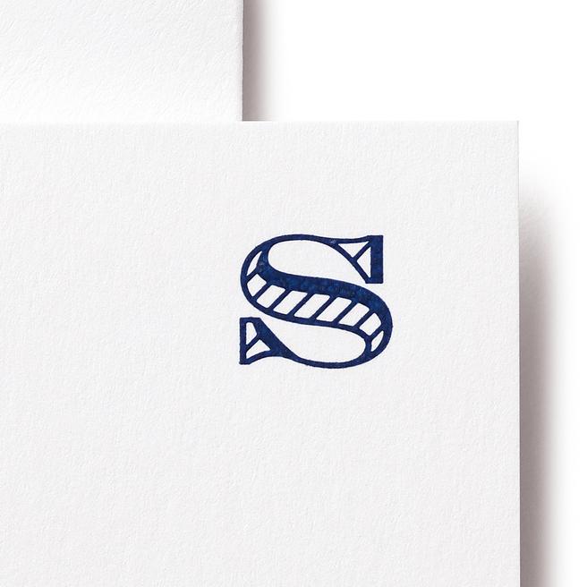 S Alphabet Cards