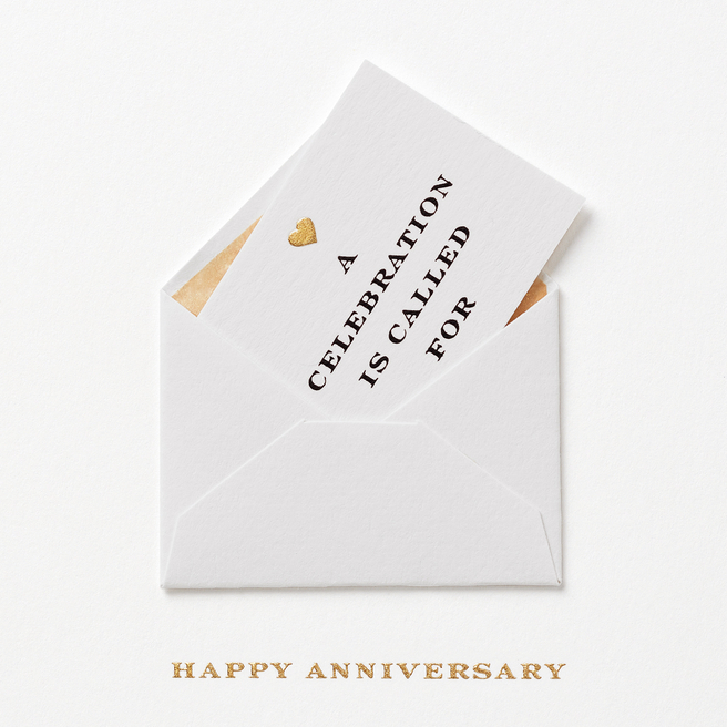 Anniversary Envelope Card