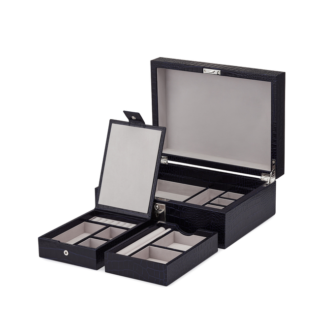 Mara Jewellery Box with Travel Tray