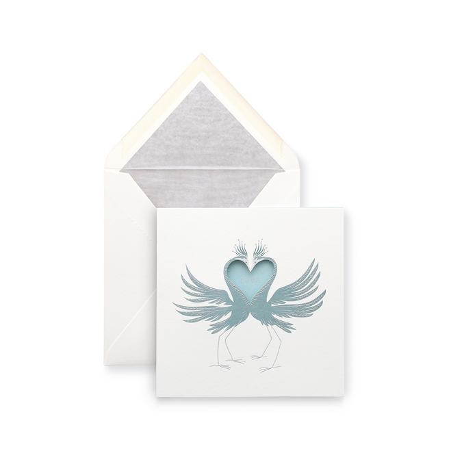 Birds Anniversary Card