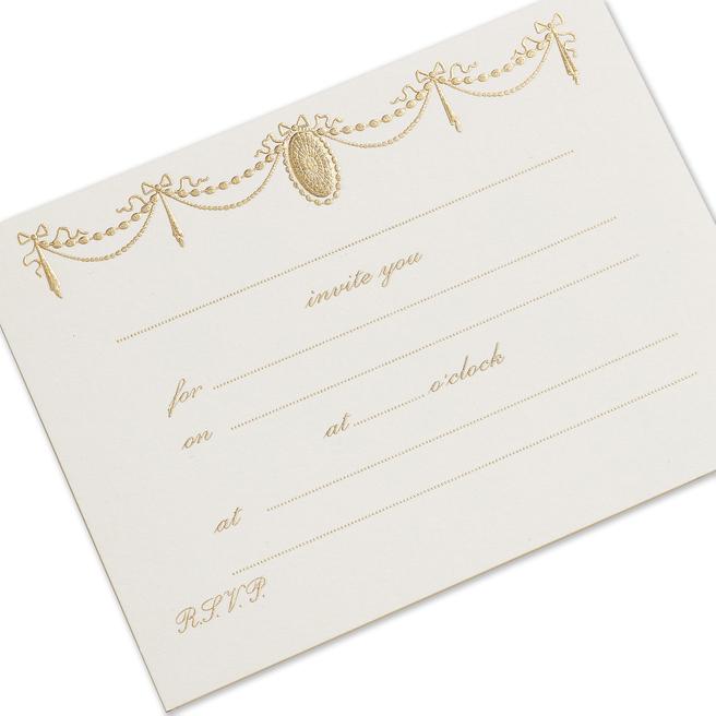 Ribbon Invitation Cards